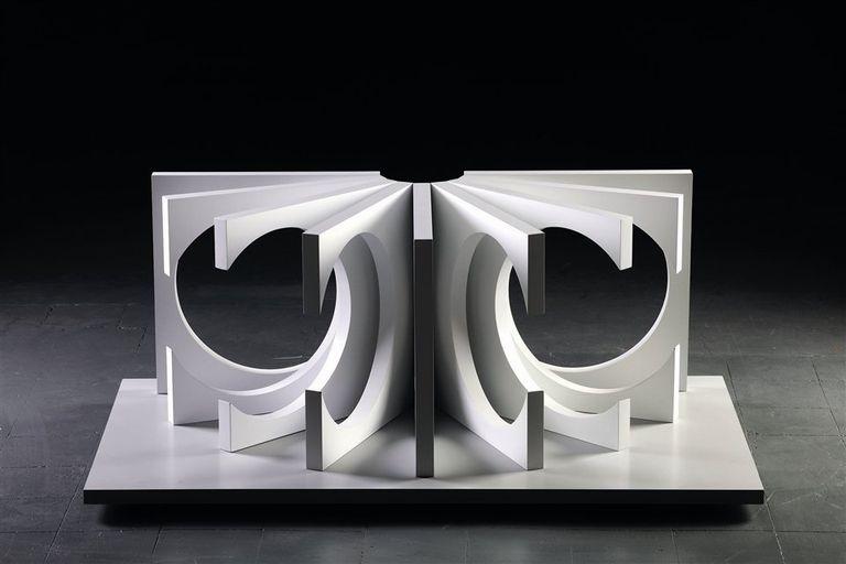 N°VI, una de las esculturas recientes que se exhibirán en el MNBA