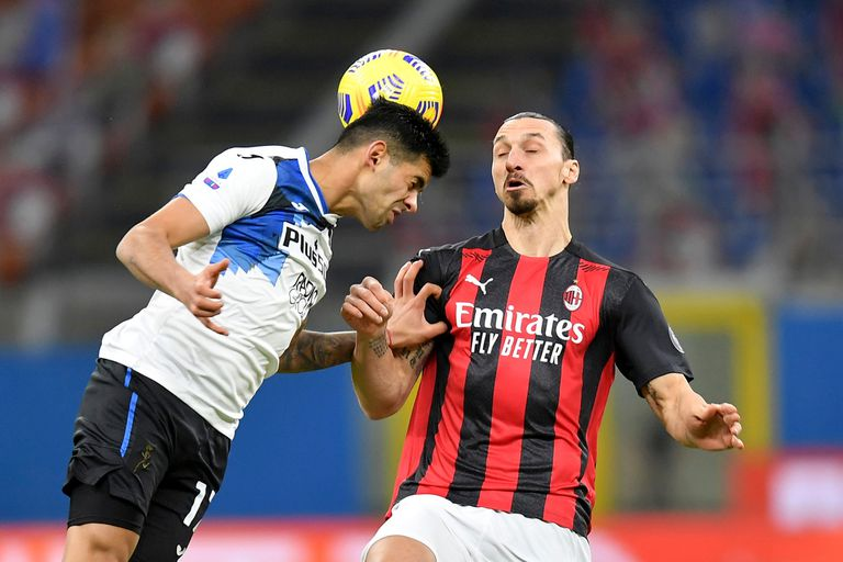 Crsitian Romero jugó un partido estupendo, fue figura y borró a Zlatan Ibrahimovic del campo de juego