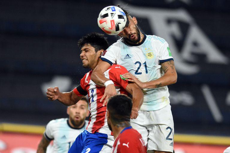 Argentina-Paraguay: así fue el gol de Nicolás González para el seleccionado