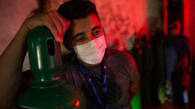 La falta de oxígeno es una constante en muchos hospitales de la región