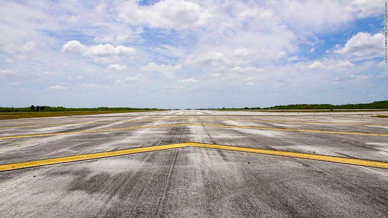 Solo se construyó una pista de las seis que se planearon. Ahora, esa pista solitaria es un recordatorio nostálgico de un sueño que nunca se materializó