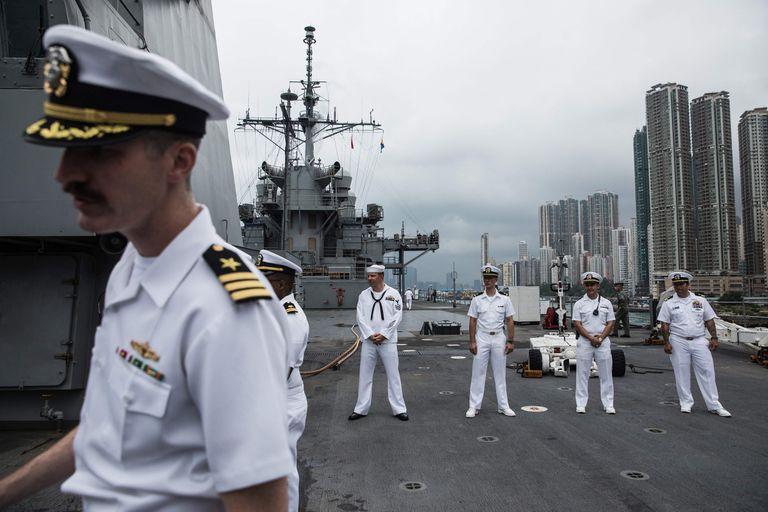 China sancionó a la Marina estadounidense como represalia al apoyo del presidente Donald Trump a las protestas pro-democracia en Hong Kong