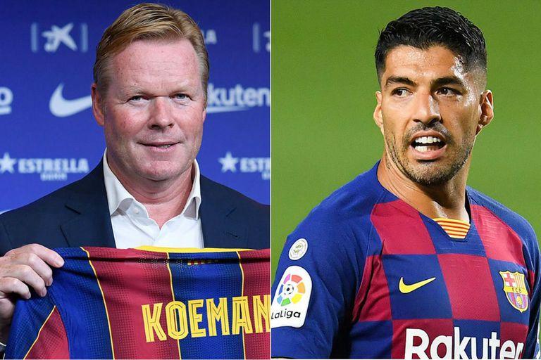 Suárez, en la mira de Koeman: dejaría Barcelona