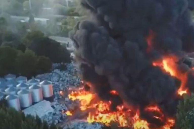 Se inició cerca de las 15 en El Talar, en General Pacheco; el humo se puede ver desde muchos puntos de la ciudad
