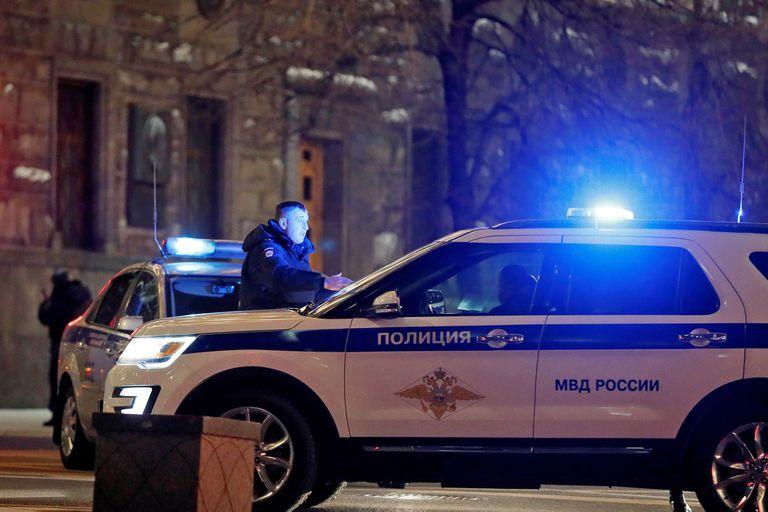 El hecho ocurrió en la sede del Servicio Federal de Seguridad (FSB) en la calle Lubianka
