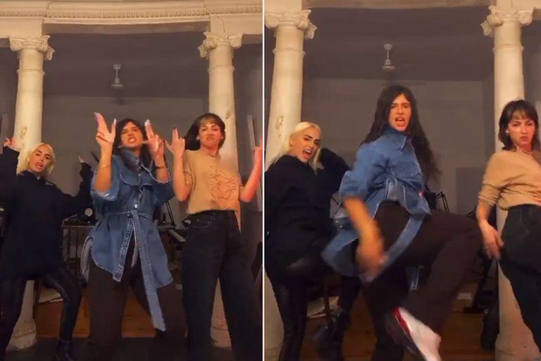Noche de chicas: Lali, Úrsula Corberó y Nathy Peluso se divirtieron en Madrid