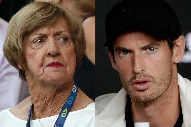 Polémica: Murray pide cambiar la cancha Margaret Court de Melbourne por ofensas