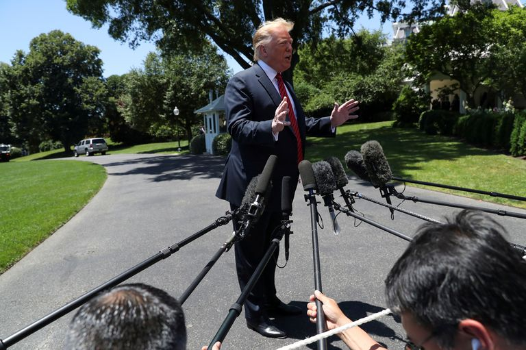 """""""¡La mayor parte del acuerdo con México no ha sido revelada!"""", había dicho más temprano el presidente en Twitter"""