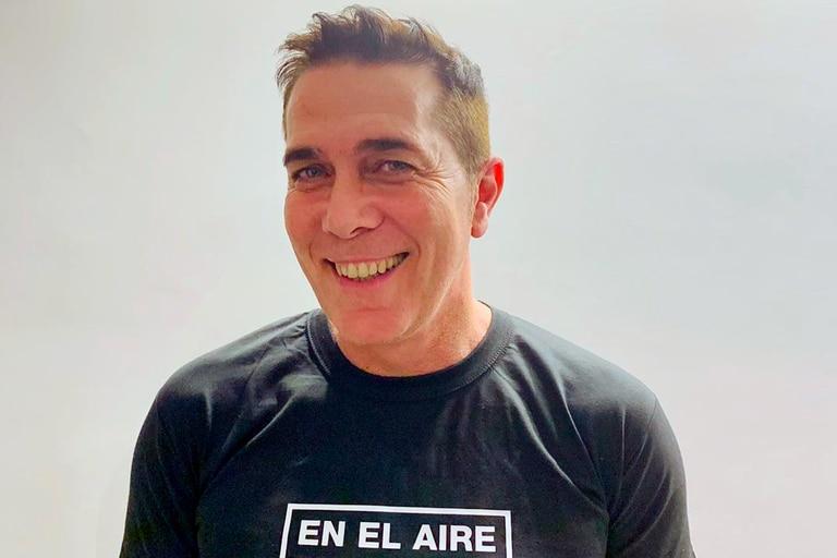 En los últimos días de sus vacaciones, Rodolfo Barili mostró en las redes sociales cómo es el entrenamiento que realiza en el gimnasio que se armó en su casa