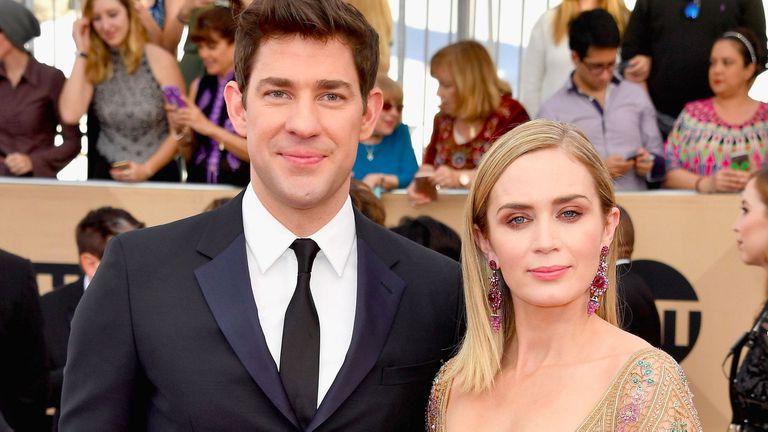 Emily y John compartirán cartel en el thriller A Quiet Place, que dirigirá el mismo actor