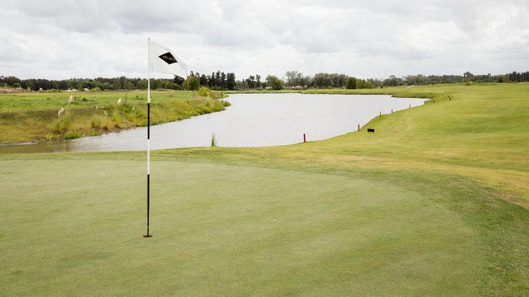 El campo de golf de Pilará servirá como reservorio para contener agua