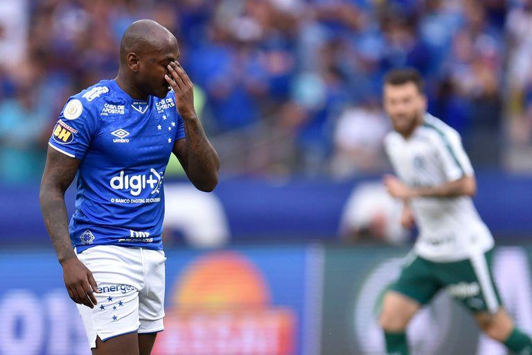 Sassa, uno de los jugadores de Cruzeiro