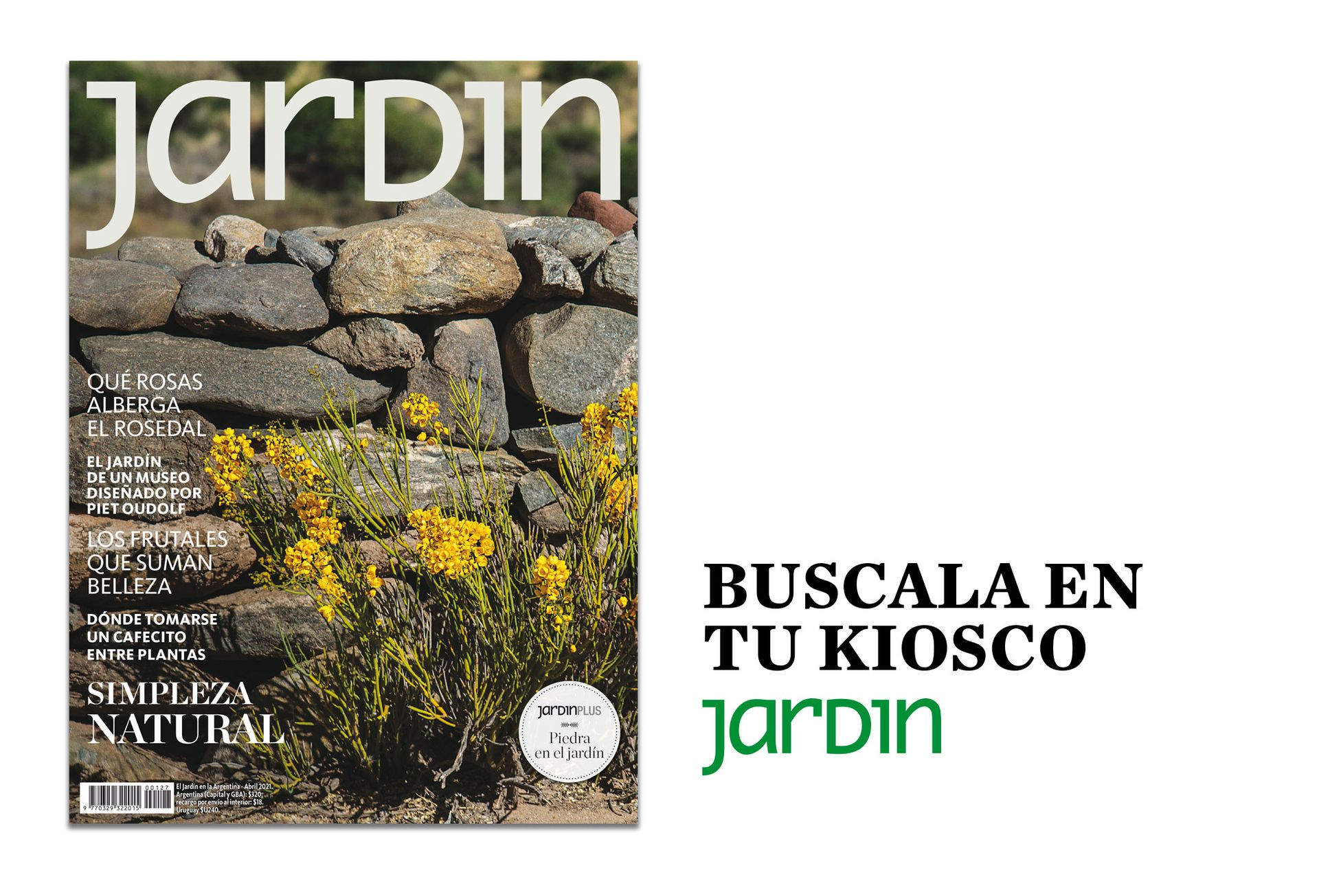 Ya podés pedirle a tu kiosquero de confianza la nueva edición de Revista Jardín, con información, consejos y secretos para el otoño.