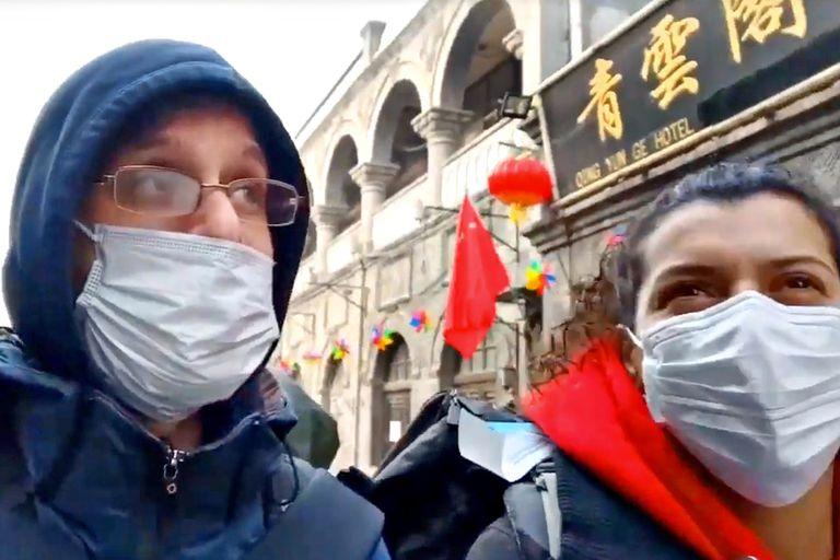 """""""Estoy encerrada hace ocho días"""": cómo viven los argentinos en China"""