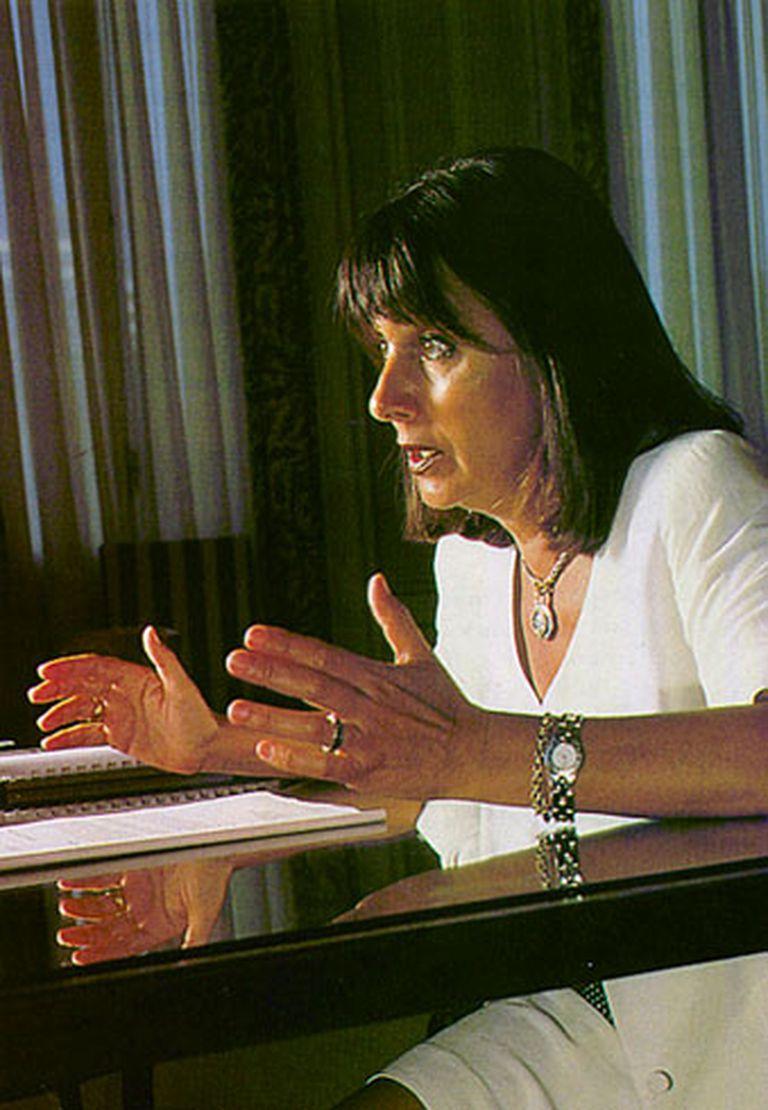 La ex ministra de Educación menemista Susana Decibe integra el Peronismo Republicano