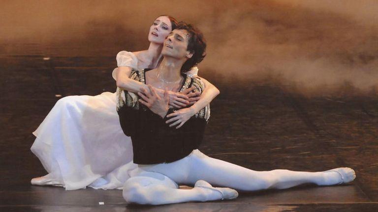 Igor Yebra en Giselle