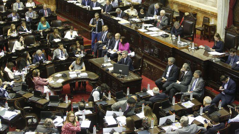El informe de Peña a los diputados, el 22 de marzo