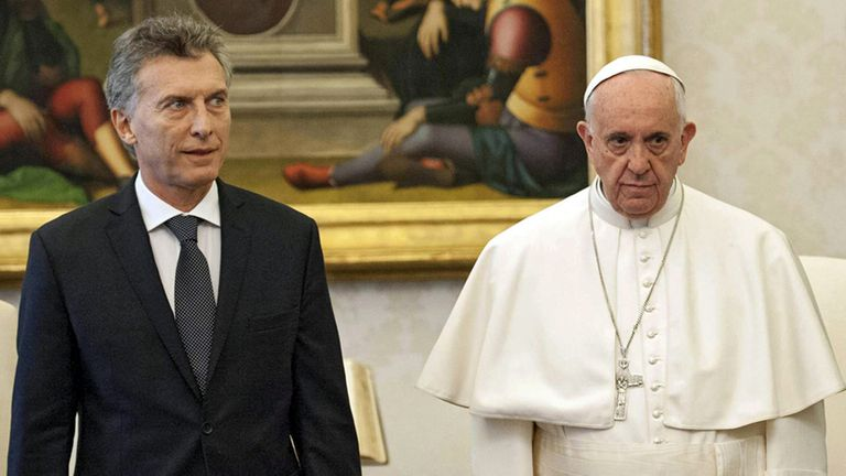 El Papa no viajará a la Argentina en 2018