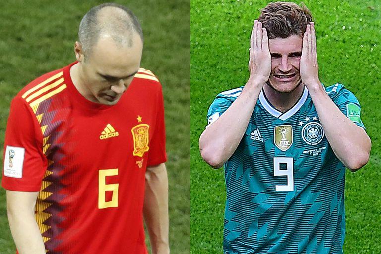 España y Alemania: dos campeones que la selección podría imitar