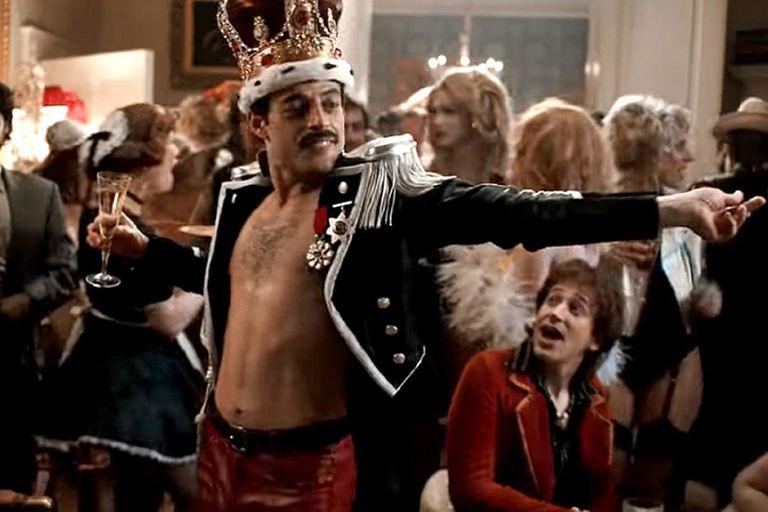 Rami Malek habló de la mítica noche de copas de Lady Di y Freddie Mercury