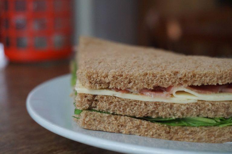 Sándwich de miga de Los Galgos
