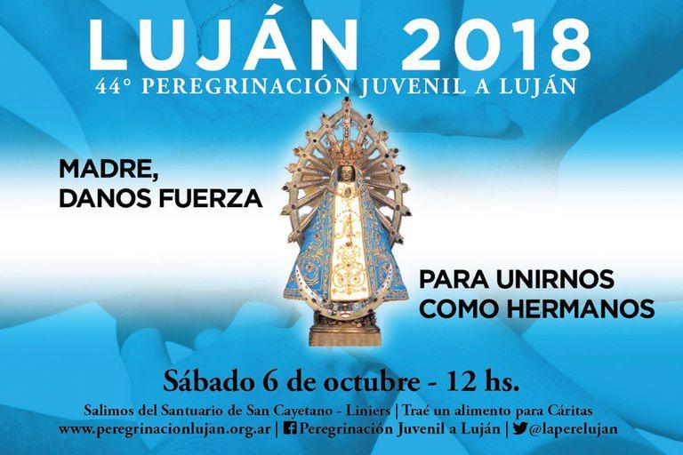 Comienza la peregrinación a la Basílica de Luján