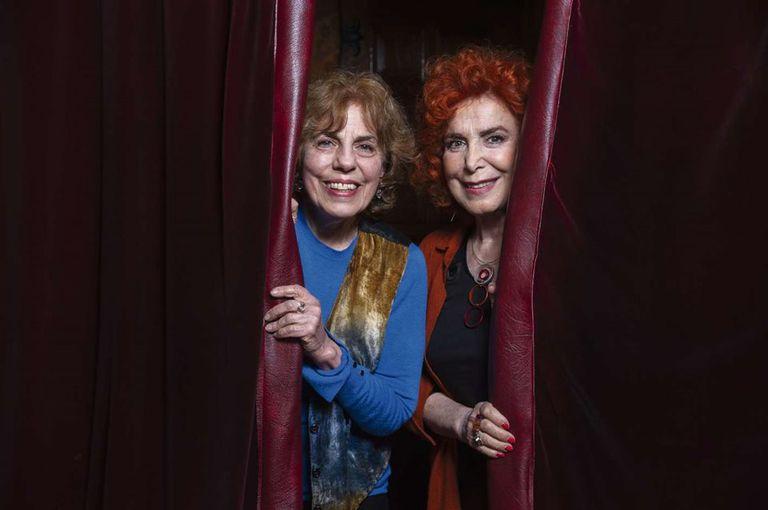 Las hermanas Busnelli comparten la pasión por el escenario