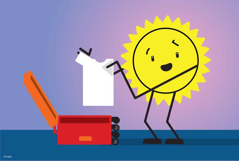 Pronóstico del tiempo: el sol hace las valijas