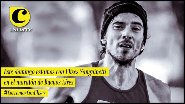 """Ulises Sanguinetti: """"Después de tres años regreso al maratón"""""""