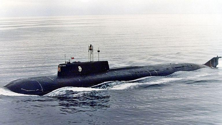 El Kursk, el submarino nuclear ruso en el que 118 personas perdieron la vida en 2000