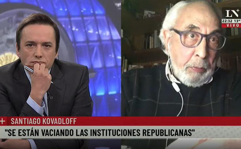 Entrevista de Santiago Kovadloff con José del Río
