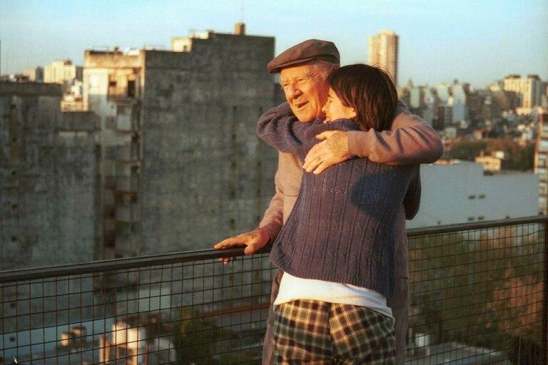 En una escena de su última película, Un día de suerte, de Sandra Gugliotta