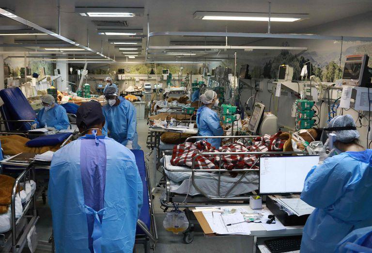 Un hospital en Porto Alegre con internados por coronavirus