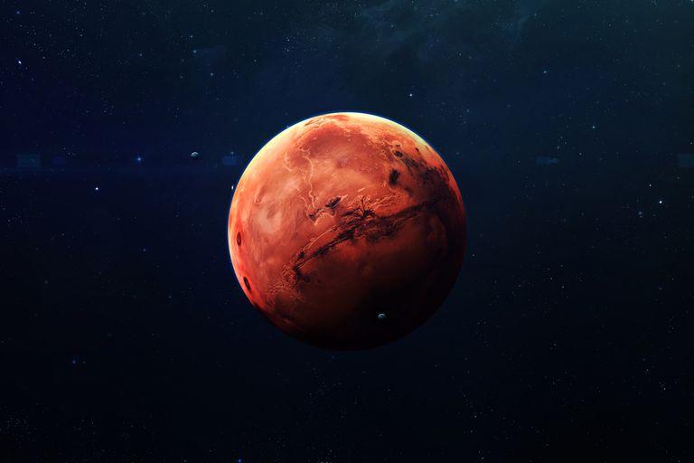 """Marte: Perseverance capturó su primer """"diablo de polvo"""" en el planeta rojo"""