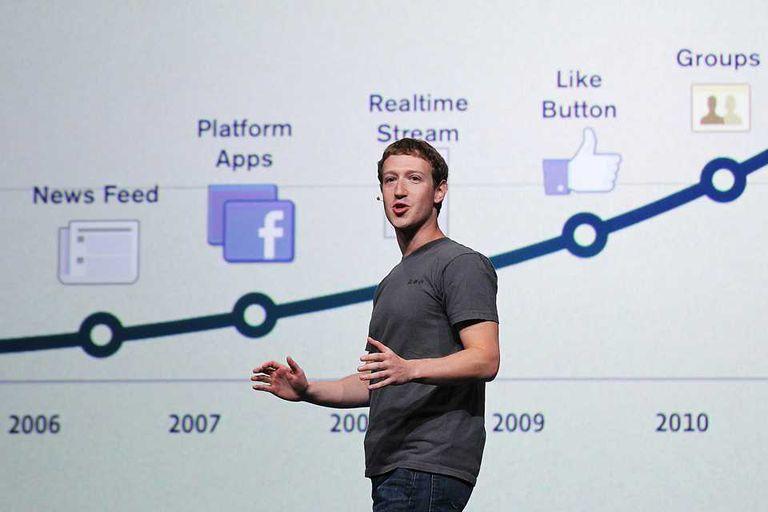 Mark Zuckerberg, uno de los creadores de Facebook