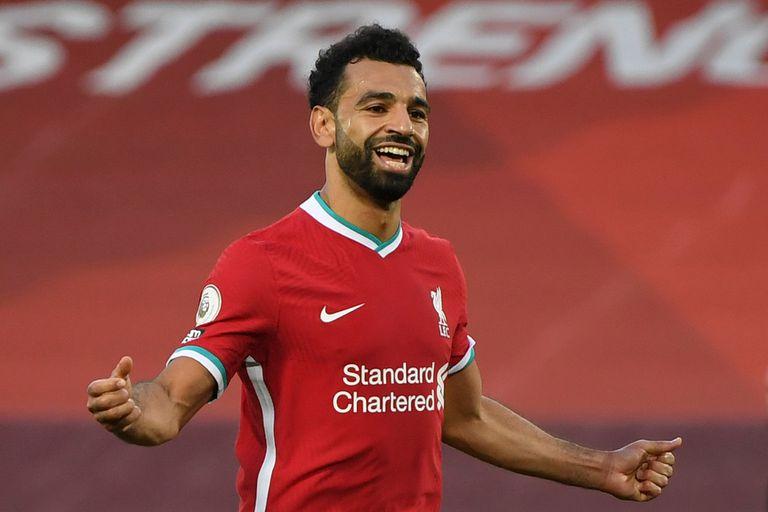 Mohamed Salah, figura del Liverpool
