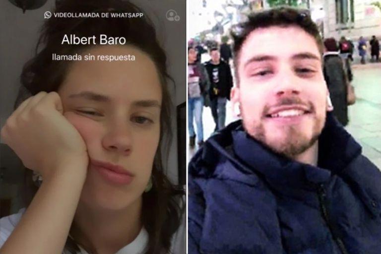 El divertido intercambio de reclamos entre Delfina Chaves y Albert Baró