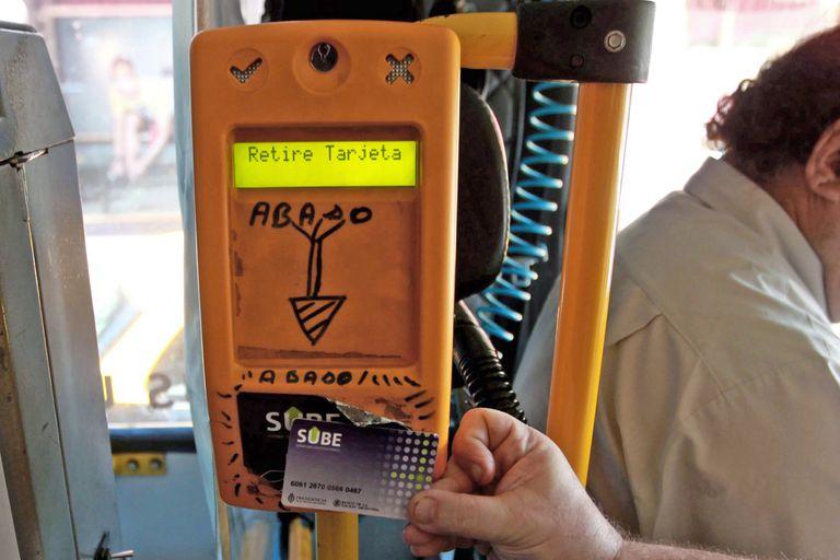 Transporte. Cómo será el control y bloqueo de la tarjeta SUBE en la nueva fase