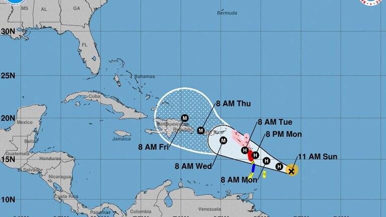 Las islas del Caribe se preparan para la tormenta María luego del furioso paso del huracán Irma