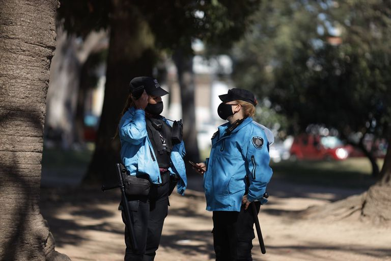 La policía forma parte de los operativos de prevención por los festejos del 21 de septiembre