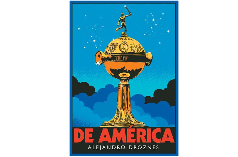 """La tapa de """"De América"""", el libro de Alejandro Droznes."""