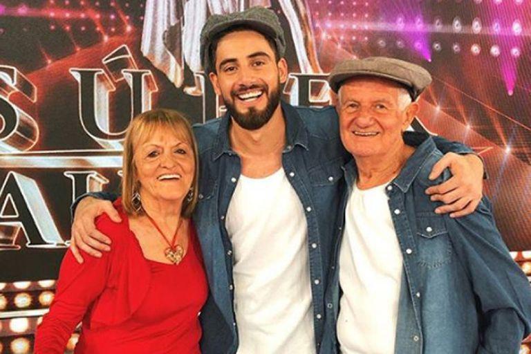 """Arjona, """"enamorado"""" de los abuelos de Nico Occhiato: """"Más actitud imposible"""""""