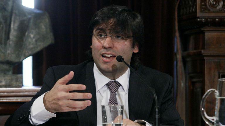 El diputado Diego Bossio