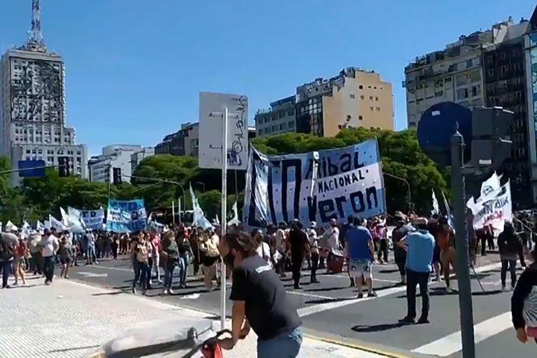 La movilización será del Obelisco hasta los tribunales; convocan La Cámpora y el partido de D´Elía y Esteche