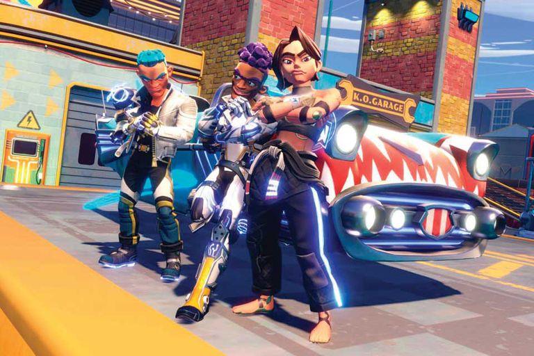 Knockout City se metió rápido entre los videojuegos más populares de 2021