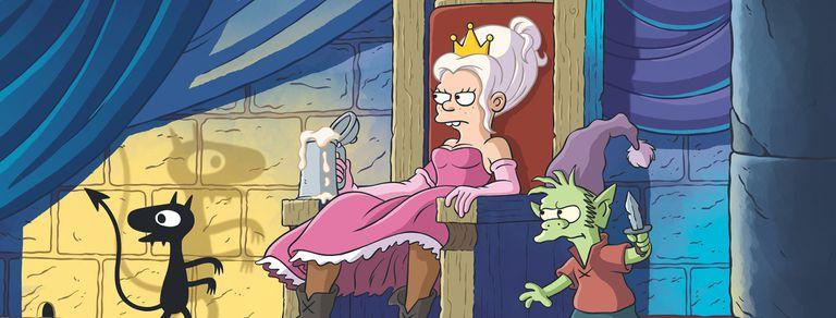 "Matt Groening, en Netflix: ""Mis personajes son dibujos que hice en la primaria"""