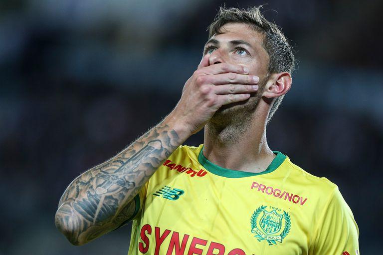 Una imagen de Emiliano con la camiseta de Nantes, el club en el que brilló.