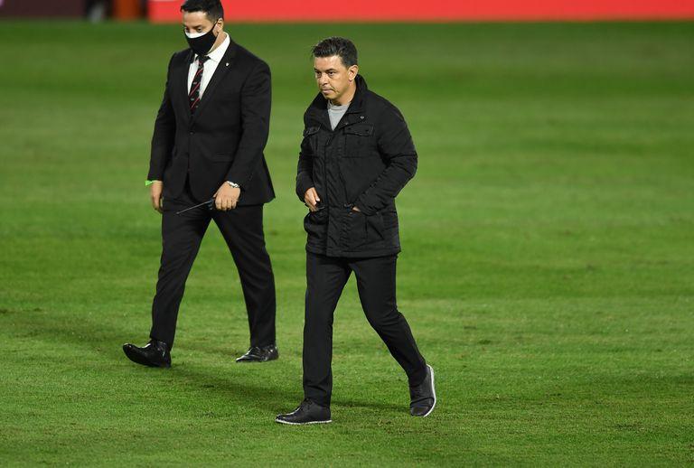 Marcelo Gallardo, obligado a improvisar un equipo para la Copa