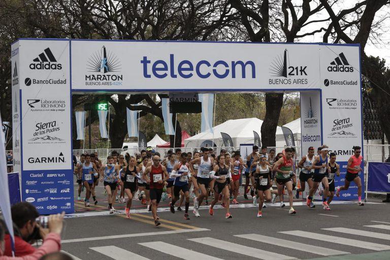 Maratón de Buenos Aires 2021 de 21 y 42k.