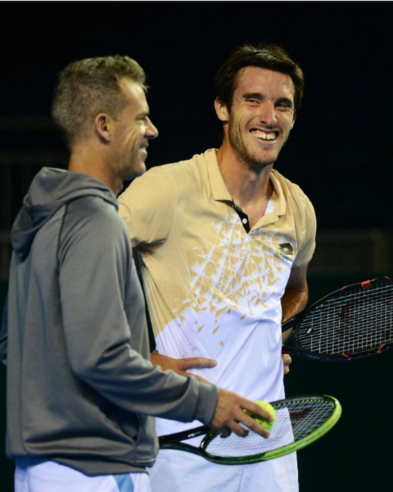 Daniel Orsanic y Leo Mayer, química entre capitán y jugador en tiempos de Copa Davis.